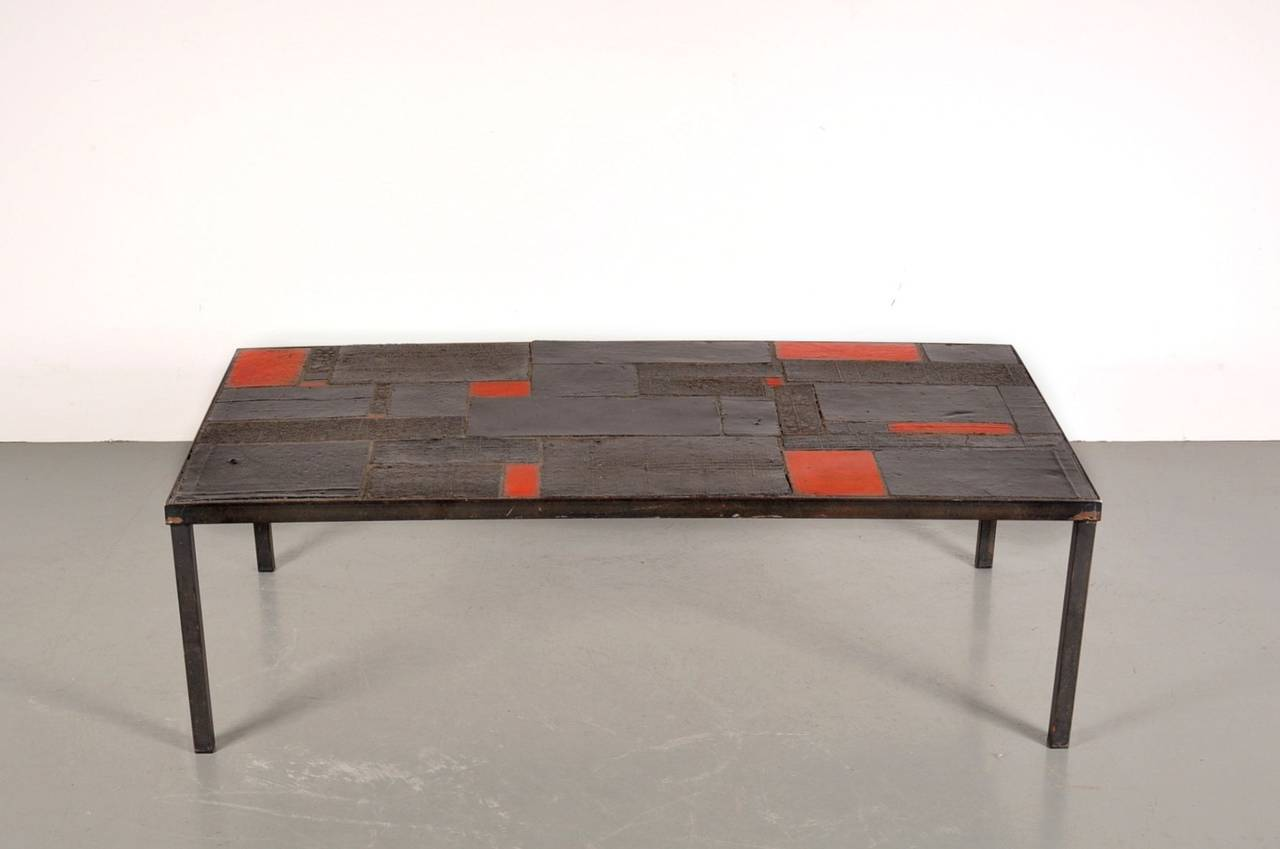1960s Coffee Table By Pia Manu