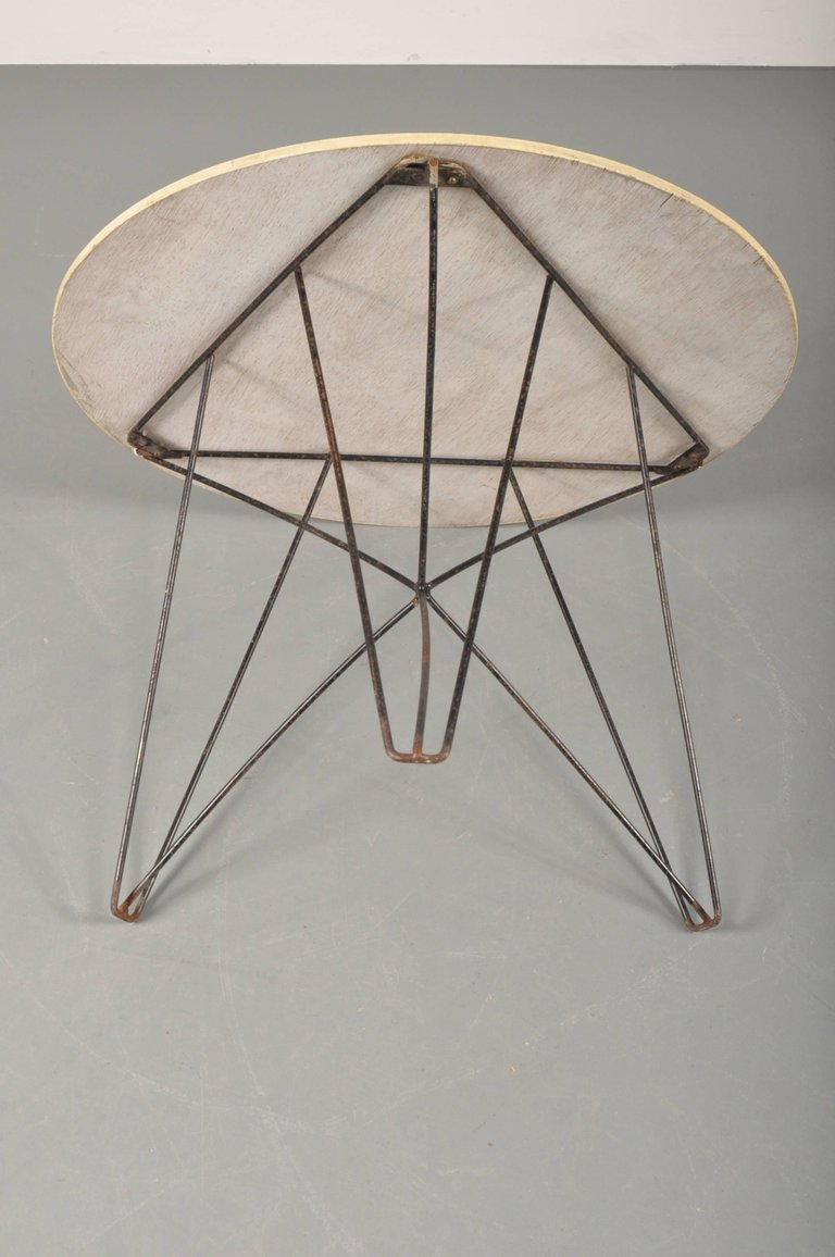 Side Table Nieuw.1953s Ijhorst Coffee Table By Constant Nieuwenhuijs For T