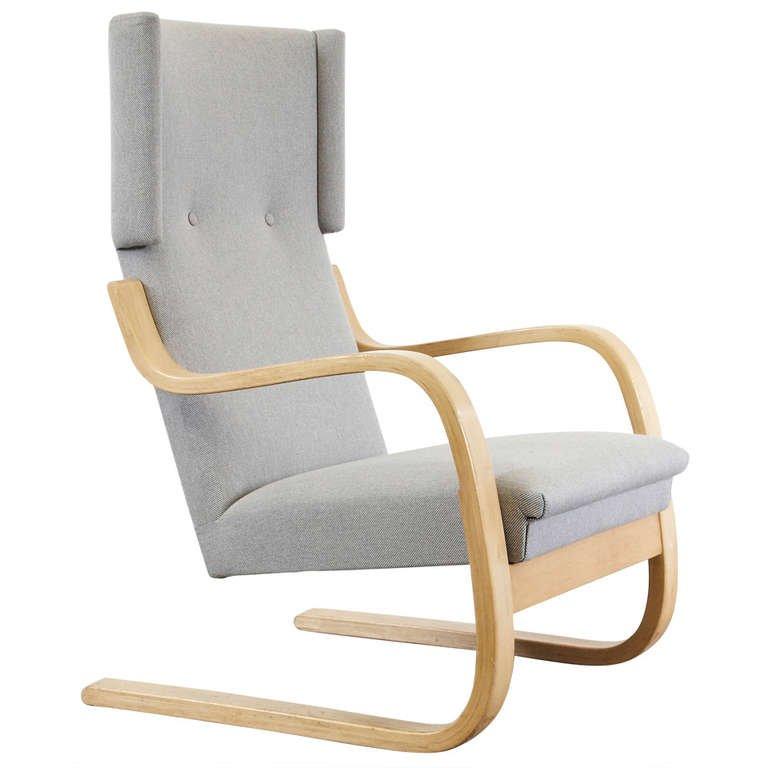 Stupendous Alvar Aalto Wingback Lounge Chair Circa 1950 Galerie Gaudium Pabps2019 Chair Design Images Pabps2019Com