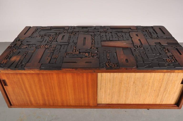 1950s Made to Order Sideboard, Belgium Galerie Gaudium