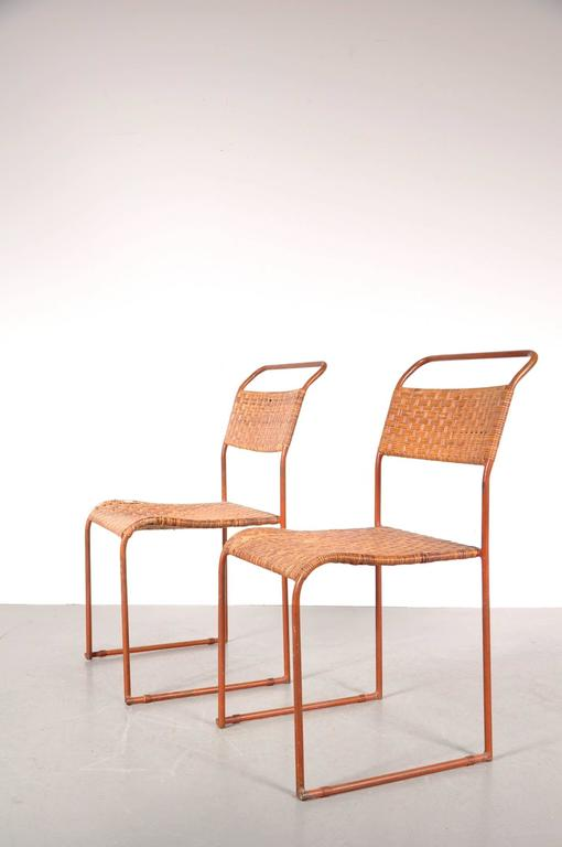 1930s Set Of Two Bauhaus Prototype Dining Chairs Galerie Gaudium