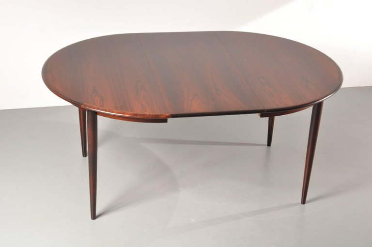 Pleasing Two Leaf Extendable Dining Table By Arne Vodder For Sibast Gmtry Best Dining Table And Chair Ideas Images Gmtryco