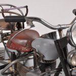 Rare Lenaerts Carousel Motorbike, Belgium, 1950s