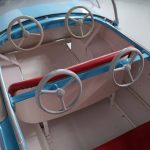 l'Autopede Dodge Carousel Car by Karel Baeyens, Belgium, 1960s