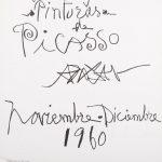 Original Picasso Lithography, 1960