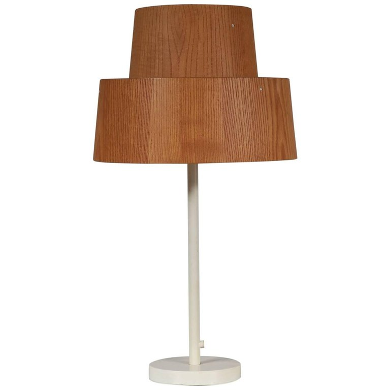 Rare Hans-Agne Jakobsson Table Lamp for AB Markaryd, Sweden, 1960