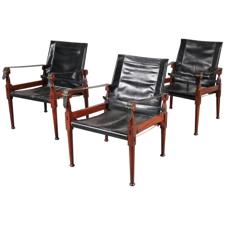 Hayat & Brothers Safari Chairs, Pakistan, 1970