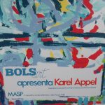 Karel Appel Lithograph for the Bols Art Exhibition, Brazil 1981