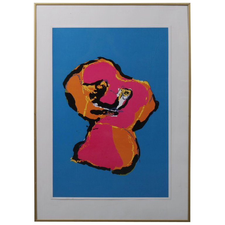 Karel Appel Animal Silk Screen, 1970