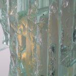 RAAK Sculptural Glass Wall Sconces Model C1517, Netherlands, 1960