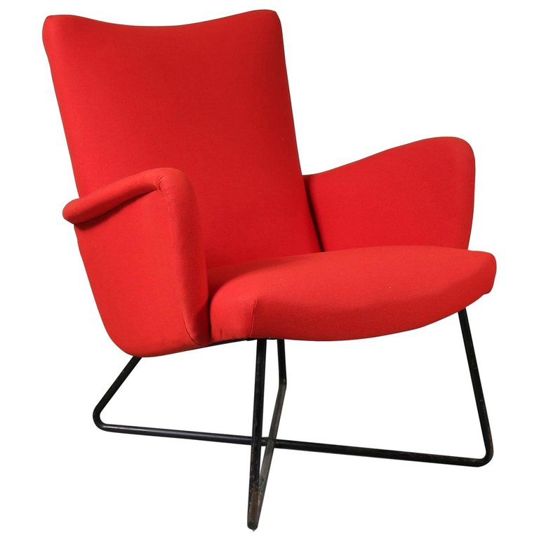 Grete Jalk Attributed Lounge Chair, circa 1950