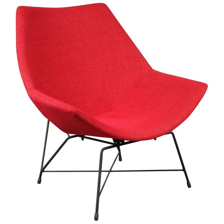 Kosmos Chair by Augusto Bozzi for Saporiti, Italy, 1954 (1)