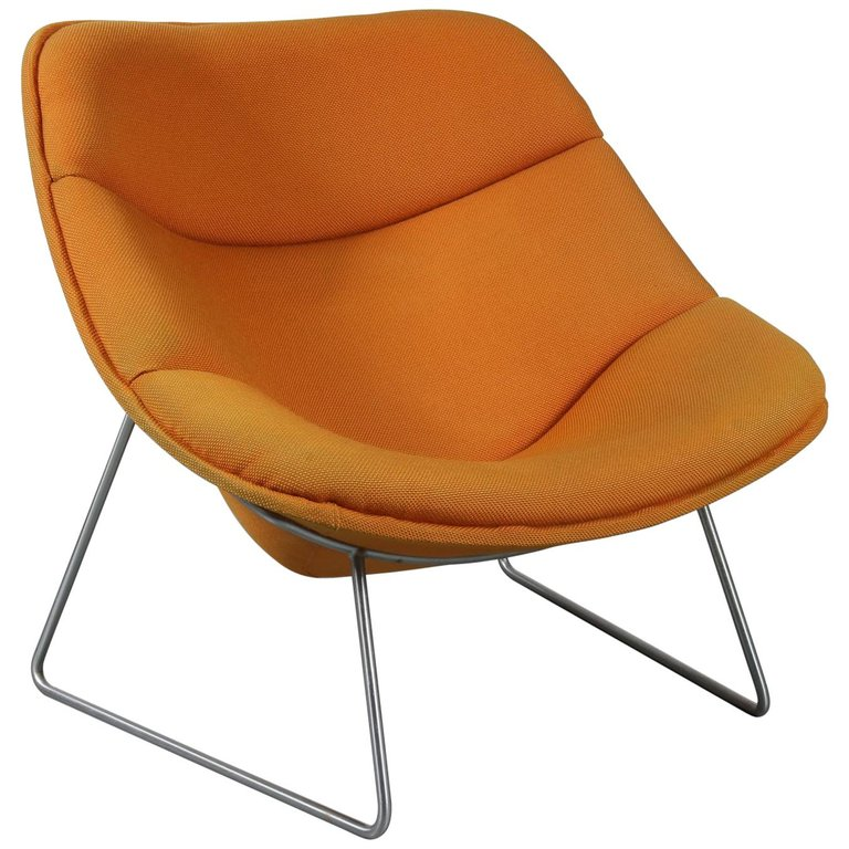 "Rare ""F558"" Chair by Pierre Paulin for Artifort, 1963"