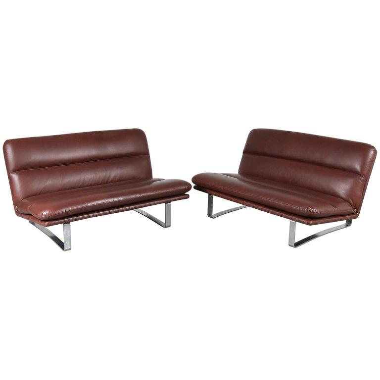 Kho Liang Ie Schiphol.Kho Liang Ie Model 662 Sofa For Artifort Netherlands 1960