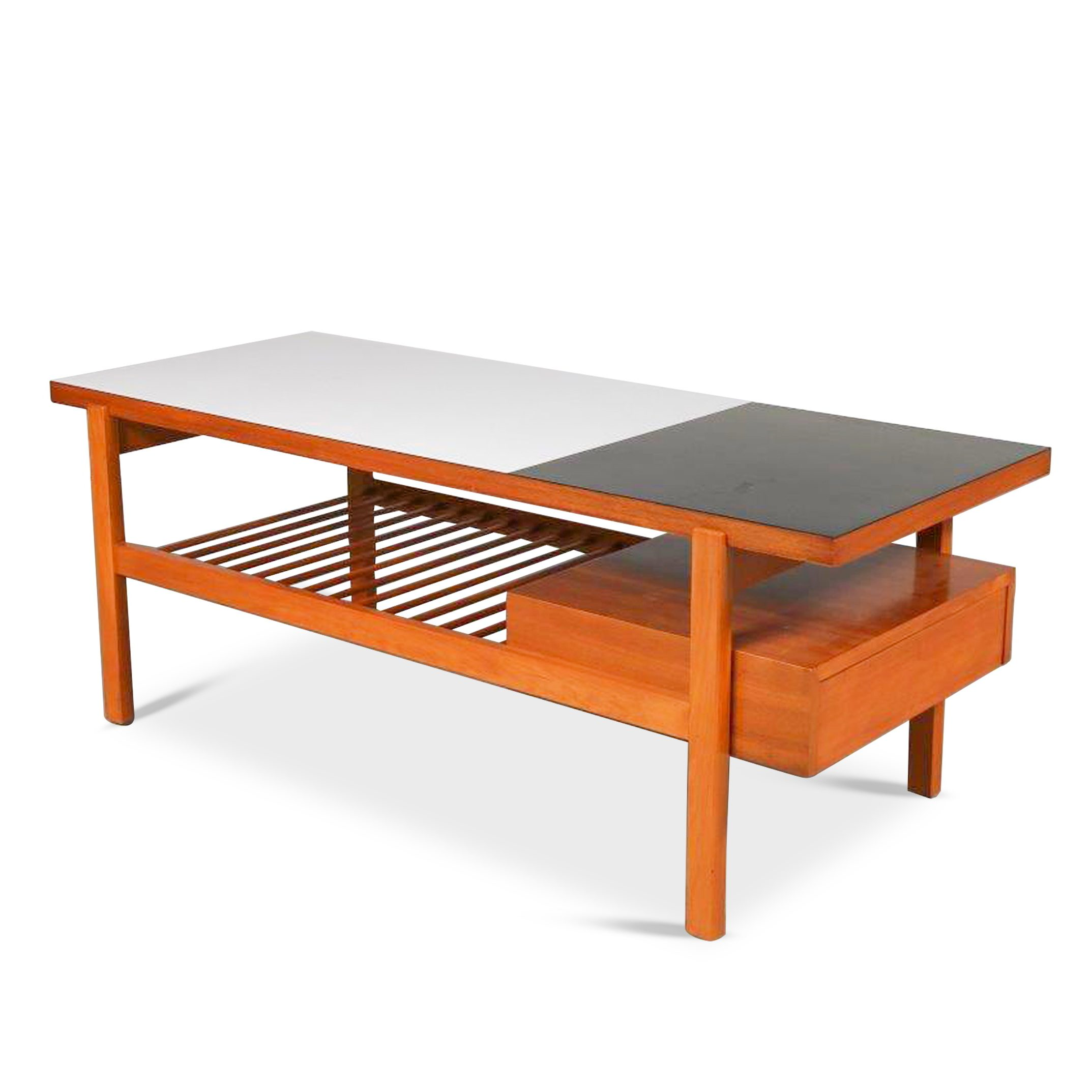 m23656 Jos de Mey Coffee Table for Van Den Berghe – Pauvers, Belgium 1950