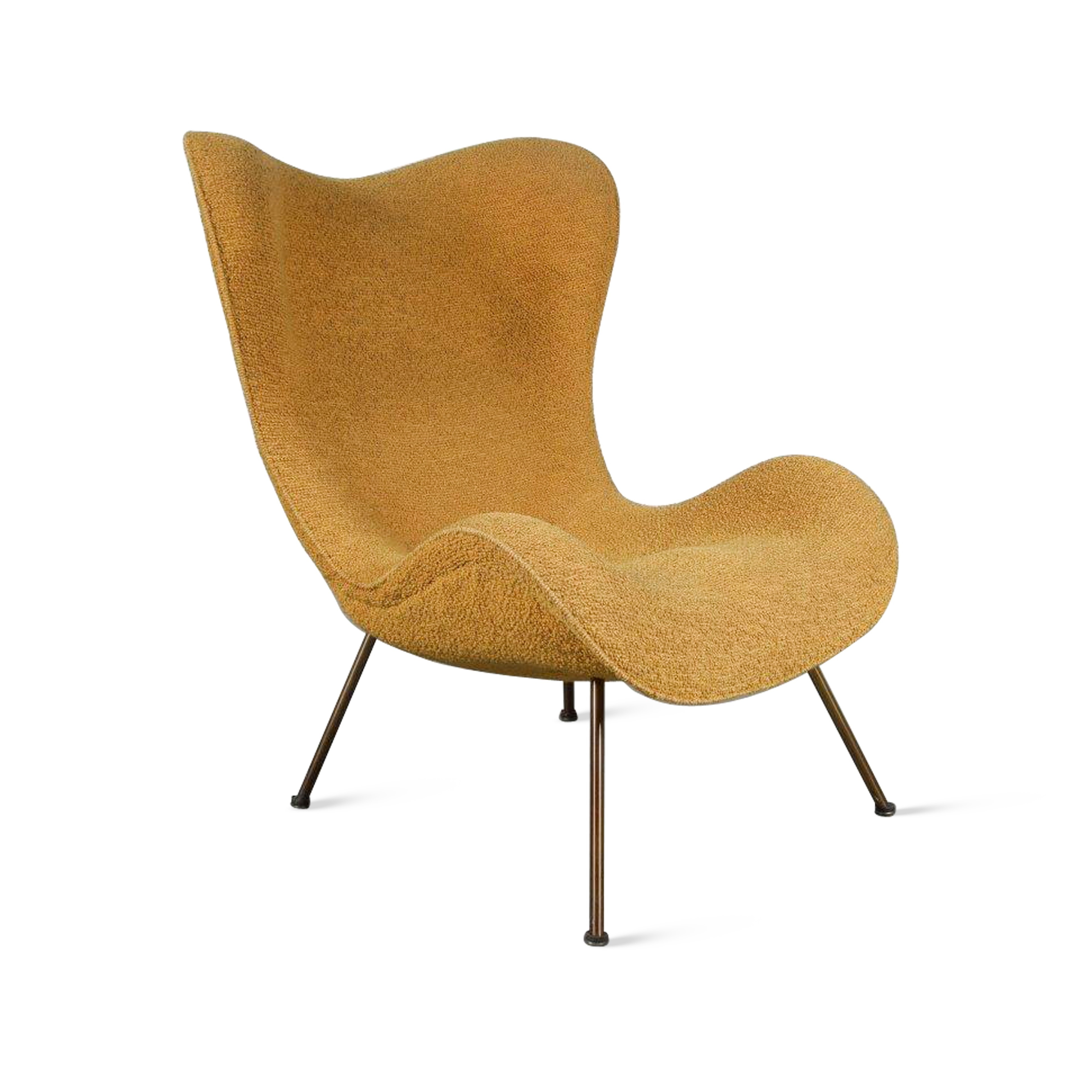 "m23825 1950s Original ""Madame"" Chair by Fritz Neth for Correcta, Germany, 1950s Fritz Neth Correcta / Germany"