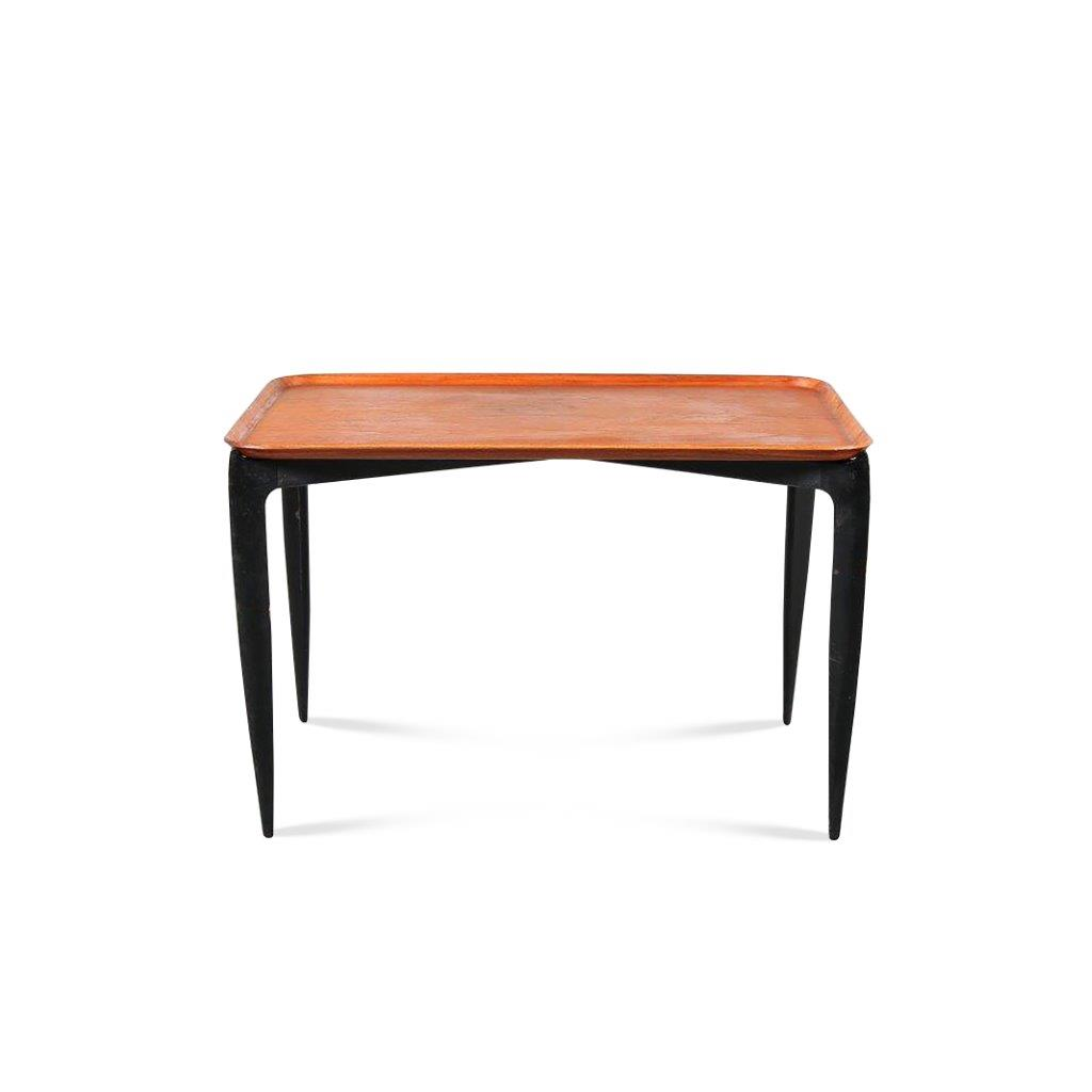 m24013 1950s Tray table / Table was only gifted or available for Fritz Hansen Employees Age Willumsen & Hans Engholm Fritz Hansen / Denmark