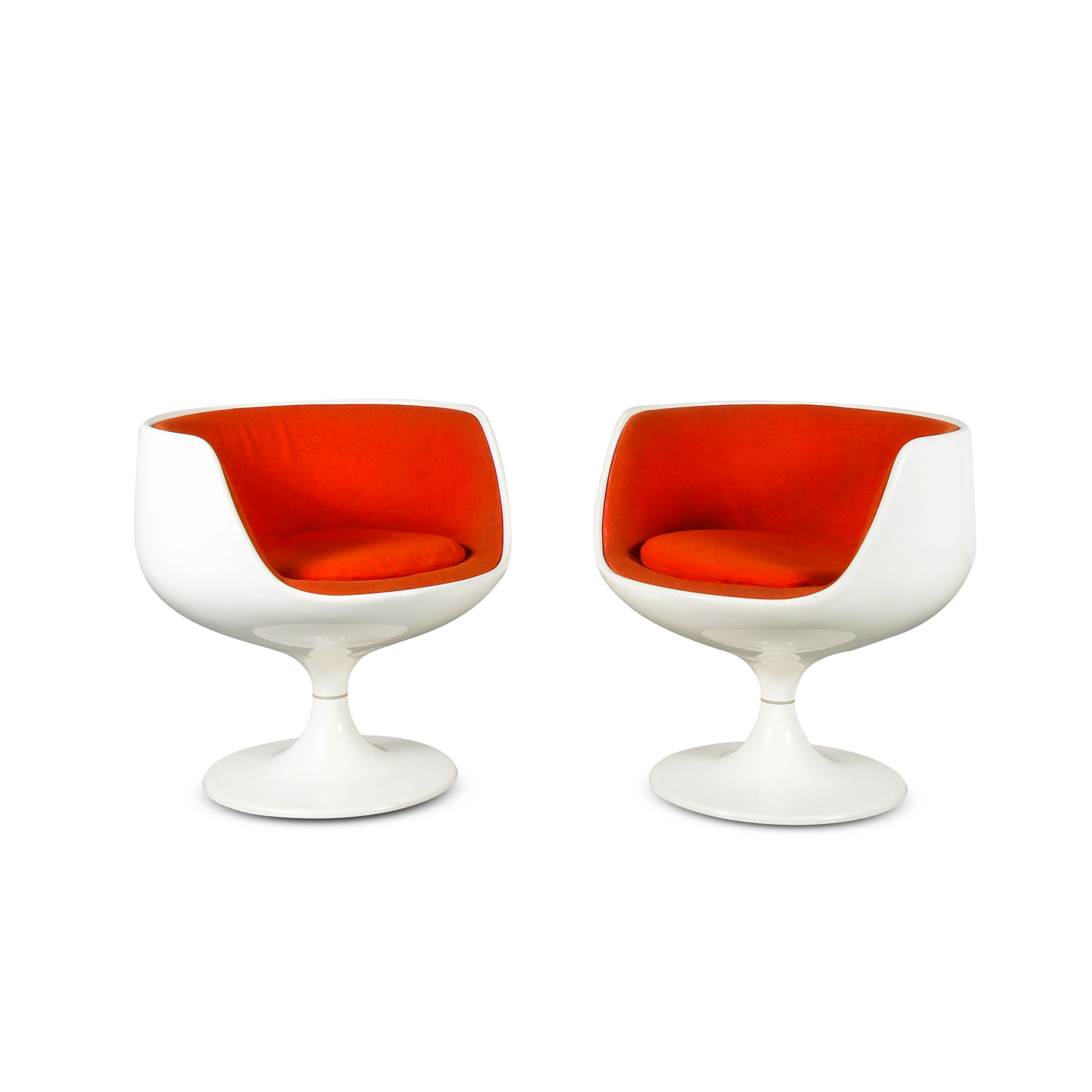"1960s ""Cognac Chairs"" by Eero Aarnio for Asko, Finland 1960"