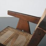 m24387 1950s Pierre Jeanneret Office Cane Chair Pierre Jeanneret Chandigarh