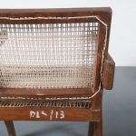 m24388 Pierre Jeanneret Cane Armchair for Chandigarh, India, 1950