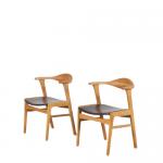 Dining / Side Chair by Erik Kirkegaard for Hong Stolefabrik, Denmark 1950