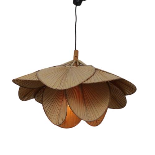 2012 1 G (44) L4644 1960s Uchiwa hanging lamp Ingo Maurer M Design Germany