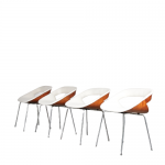"1960s Dining Chairs Model ""130"" by Geoffrey Harcourt for Artifort, Netherlands"