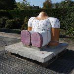 Sitting Figure Sculpture by Jan Snoeck, Netherlands 1980